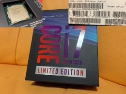 Core i7 8086K Limited Edition BOX(中古)